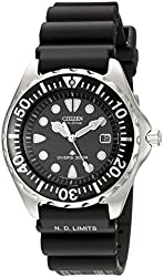 Citizen Men's BN0000-04H Stainless Steel Eco-Drive Dive Watch