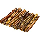 """USA Bully Sticks 6"""" - 100% All Natural Made in the USA Premium Beef Dog Treats by TickledPet"""