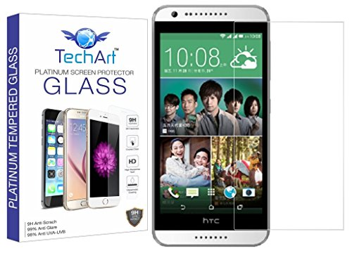 TechArt 9H Hardness Toughened Scratch Proof 2.5D Tempered Glass Screen Protector for HTC Desire 620 / Desire 620G  available at amazon for Rs.139