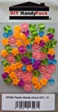 DIY HandyPack - Assorted Plastic Beads Star Heart Round Flower Butterfly