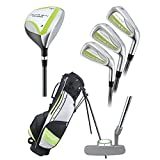 Young Gun Pro Series Golf Clubs Package Set Age 6-8 (Blue)