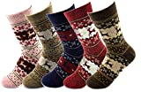 Field4U® Womens Crew Socks 5-Pack