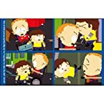 South Park Cripple Fight Montage Keychain