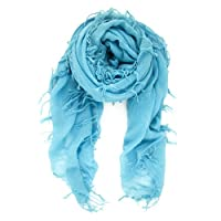 Chan Luu Cashmere and Silk Scarf in New Turquoise