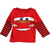 Disney Cars Boys Piston Cup Long Sleeve T-Shirt