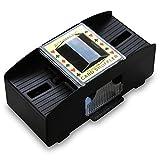 4 x HC-Handel 910913 Kartenmischer Mischgerät Karten...