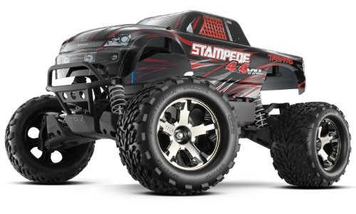 Traxxas RTR 1/10 Stampede 4X4 VXL 2.4GHz (Colors May Vary)