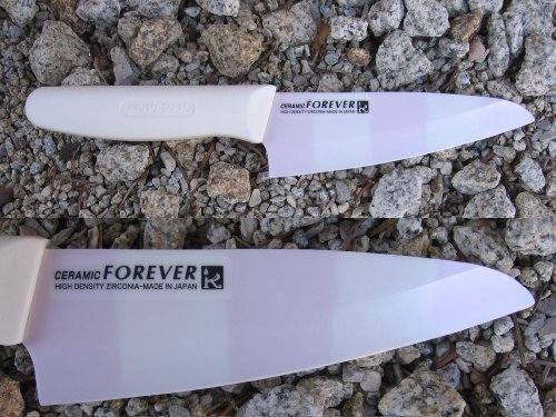 Ceramic Knife Made in Japan Coloured Blade