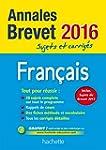 Annales 2016 Fran�ais 3E