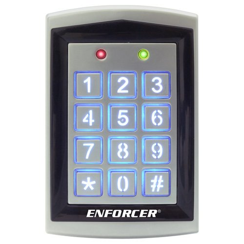 Seco-Larm Enforcer Access Control Keypad, Outdoor With Proximity Reader (Sk-1323-Spq)