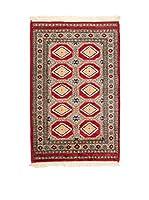 QURAMA Alfombra Kashmir Rojo/Multicolor 120 x 75 cm