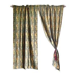 Textiles Plus Jacquard Fleur De Lis Cotton Rod