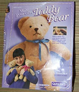 Make your own teddy bear craft kit for Make your own teddy bear template