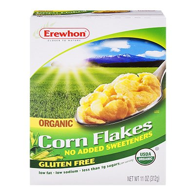 EREWHON CEREAL FLAKE CORN ORG, 11 OZ (Erewhon Gluten Free Corn Flakes compare prices)