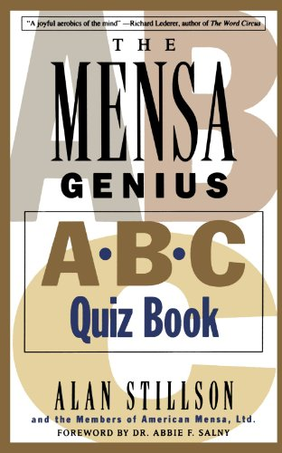 Mensa Genius A-B-C Quiz Book