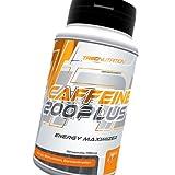 Caffeine 200 PLUS, contiene cafeína anhidra de alta pureza y naringenina, que incrementa el efecto de la cafeína. Este producto actúa muy rápidamente, estimulando el organismo a aumentar la actividad física y psicológica. La cafeína no solo e...