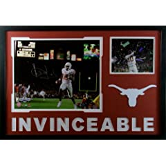 Texas Longhorn National Championship Framed 16x20 Photo Signed GTSM COA Autographed...