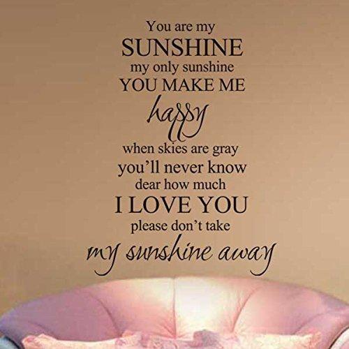 you-are-my-sunshine-il-mio-unico-sunshine-nursery-adesivo-da-parete-love-parete-citazione-famiglia-a