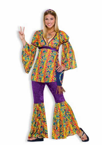 Forum Novelties Women's 60's Generation Hippie Purple Haze Costume