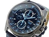 セイコー SEIKO クロノグラフ 腕時計 SNDD71P1 ブラック&ブルー[逆輸入品]
