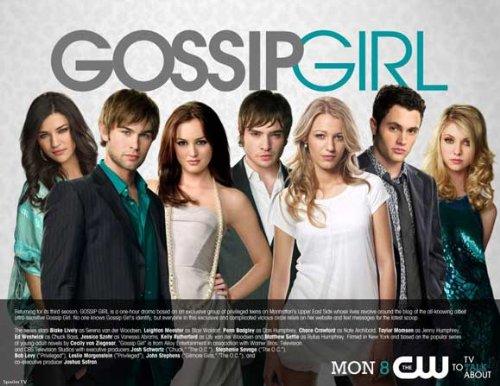 Gossip Girl (TV) - 映画ポスター - 11 x 17