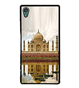 Fuson Premium 2D Back Case Cover Taj Mahal With black Background Degined For Sony Xperia Z5 Compact::Sony Xperia Z5 Mini