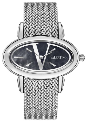 Valentino Signature Oval Stainless Steel Womens Fashion Watch V50SBQ9999-S099