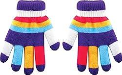 True Gear Children's Insulated Gloves (Purple)