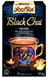 Yogi Tea Black Chai 17 Teabags (Pack of 6, Total 102 Teabags)