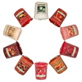 Yankee Candle 10 Pack Christmas & Food Assorted Votive Samplers