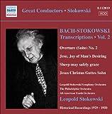 Bach, J.S.: Stokowski Transcriptions, Vol. 2 (Stokowski) (1929-1950)