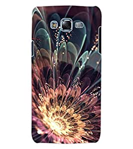 ColourCraft Beautiful Flower Design Back Case Cover for SAMSUNG GALAXY J7