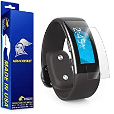 buy Armorsuit Militaryshield - Microsoft Band 2 Screen Protector [2-Pack] Anti-Bubble And Extream Clarity Hd Shield With Lifetime Replacements