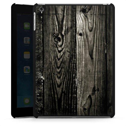 apple-ipad-air-hulle-schutz-hard-case-cover-ebenholz-look-holz-schwarz-holzwand