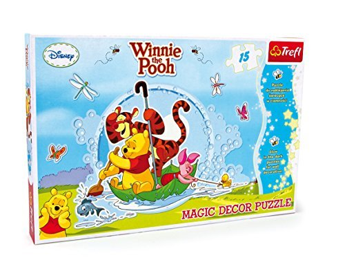 small foot company 3445 wandpuzzle winnie the pooh 15 teilig by small foot by legler. Black Bedroom Furniture Sets. Home Design Ideas