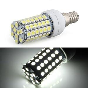 Bombilla Lámpara Foco Luz Blanco E14 8W 69 LED 5050 SMD AC 220V Bajo Consumo   Revisión del cliente y más noticias
