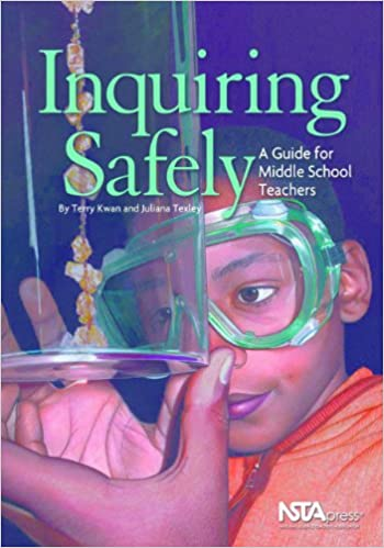 Book cover: inquiring safely: a guide for middle school teachers