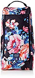 Joules Women s Welland Printed Canvas Welly Bag Navy Rose 12.5 B(M) US
