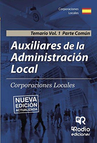 auxiliares-de-la-administracion-local-corporaciones-locales-temario-vol-1-parte-comun
