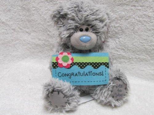 Douglas 9'' Plush TATTY TEDDY Congratulations