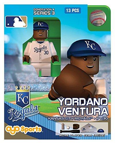 Yordano Ventura MLB Kansas City Royals Oyo G4S3 Minifigure