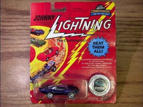 JOHNNY LIGHTNING DARK PURPLE CUSTOM TURBINE COLLECTIBLE DIE CAST VEHICLE