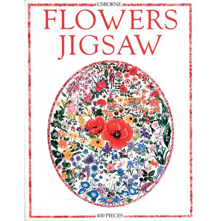 Flowers 400pc Jigsaw Puzzle