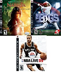NBA Live 09 / The Bigs / The Chronicles of Narnia Prince Caspian