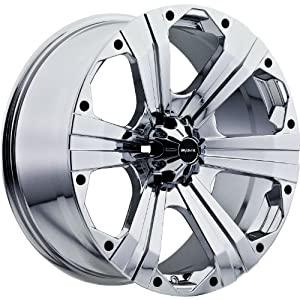 Ballistic Outlaw 20×9 Chrome Wheel / Rim 5×150 with a 30mm Offset and a 110.00 Hub Bore. Partnumber 902290559+30C