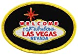 Welcome To Fabulous Las Vegas Sign Embroidered Patch Iron-On Casino Souvenir, Bags Central
