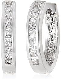 SIA Art Jewellery Clip-On Earrings For Women (Silver) (AZ3277)