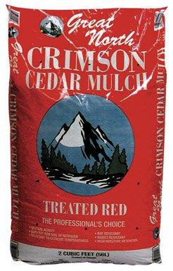 Ameriscape Inc 2Cuft Red Cedar Mulch 55554-Rdc04 Mulch
