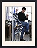Framed Print of Robotic legs from Science Photo Library