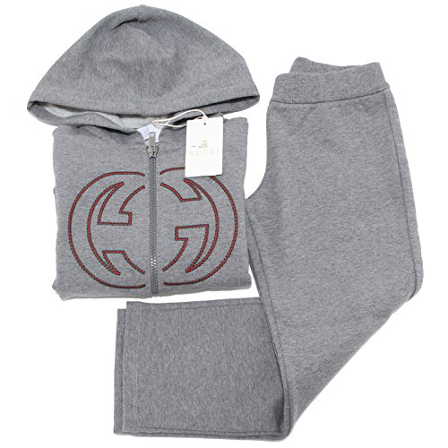 8004f-tuta-completo-gucci-cotone-pantalone-maglia-bimbo-trousers-sweatshirt-suit-8-years